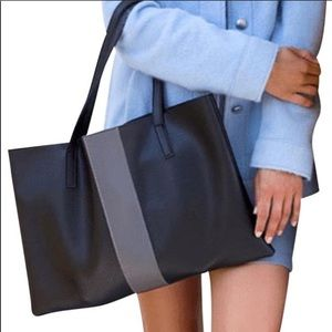NWOT🖤Vince Camuto Vegan Leather Tote